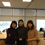 Picture with Partners' secretaries