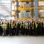 Our distribution centre is located in Stoke on Trent, and has the capacity to store 55,000 pallets