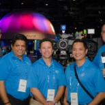 The Dell Software production team at Dell World
