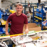 photo of Stryker, Working on our production floor