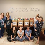 Accountable's many Branches across the Nation held our annual Food Drive for Thanksgiving.