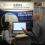 InsideSales.com photo: Working at Dreamforce 2012