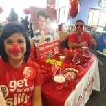 red nose day with the boss