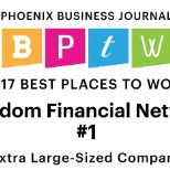 #1 Best Place to Work in Arizona for the 2nd year in a row!