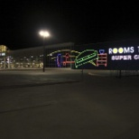 Katy Showroom and Outlet Center at Night
