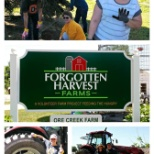 Volunteering at Forgotten Harvest Farms!