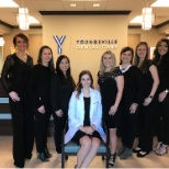 Team photo at Youngsville Dental Care