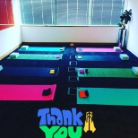 Thankyou Allianz for being a great place to work. Allowing me to turn the boardroom into a yoga room