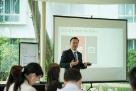 "AvePoint Co-CEO and Co-Founder Dr. Tianyi (TJ) Jiang presented on ""Digitizing with Confidence""."