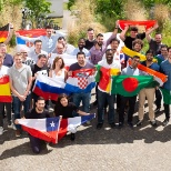 AUTO1 Group photo: One of our departments, showing their internationality