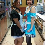 halloween at subway!