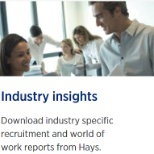Read more about industry insights https://www.hays.com.au/industry-insights