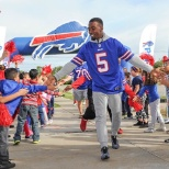 Tyrod Taylor - BEST F/A acquisition by our Buffalo Bills in quite a while!  True Role Model