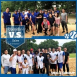OEC Group photo: Teamwork makes the dream work. Our sales and operations team had a blast playing softball!