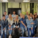 Double Denim Day at McGinley HQ