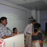 Addressing the participants as Principal
