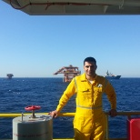 Maersk Oil photo: commissioning platform Hilal