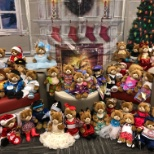 Ricoh photo: Since 2012, Ricoh employees have creatively dressed & donated 500+ Teddy Bears to children in Canada