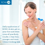 ASEA photo: Daily application of RENU 28 skin gel results in healthier, younger, and more vibrant-looking skin.