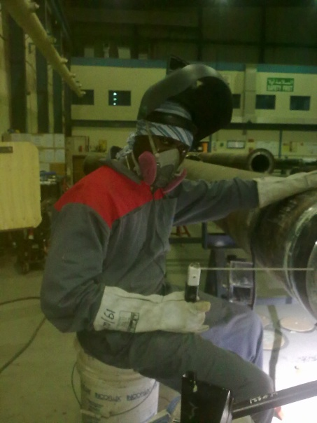 welding of high pressure pipe using GTAW and SMAW  in dubai