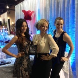 Bridal Spectacular Show in front of The Ritz booth