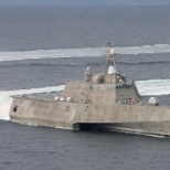 Austal USA photo: USS Independence (LCS 2) underway