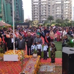 A heart touching event (RepublicDay celebration with Residents).