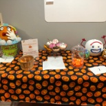 Staff pumpkin contest at Southwest YMCA