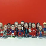 Our head office bobble-head team!