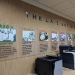 The Northlake store has a cool history of La-Z-Boy.