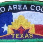 Boy Scouts of America photo: Alamo Area Council Shoulder Strip Brand