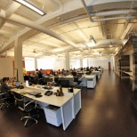 Large open office in Los Angeles.