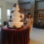 elsye n cake wedding