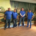 Top-notch installers happy with a job well done!
