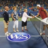 Western & Southern Tennis Tournament Coin Flip