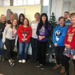 photo of Somerset County Council, Christmas Jumper Day 2019