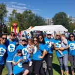 Sales Talent Agency's annual participation in the Mount Sinai Hospital Rock N Stroll event