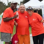 All smiles at the annual heart walk