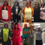 PB employees enjoying Halloween !