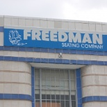 Freedman Seating Company photo: Front of 4545 W. Augusta Blvd.