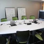 Deloitte photo: Mediascape technology conference room in San Fran office