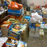 Food drive for End 68 Hours of Hunger