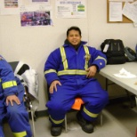 Flint Energy Services Ltd photo: at mess during break time