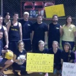 DG Young Professional Network playing Kickball!