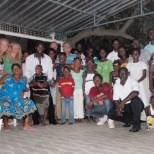Husky Energy photo: A picture of my stalf Family in Angola Africa , where i work from 1998 to 2011 ,with BP angola