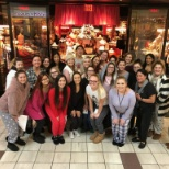 "Holiday season meeting with the theme ""PJ party"" to encourage us having fun while at a meeting!"