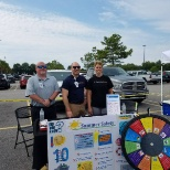 Grand Strand Medical Center photo: Staff from our EMS team representing Grand Strand at the Public Safety Event