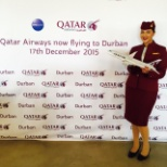 Qatar Airways photo: Durban Promotion