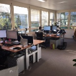Employees in our Sophia Antipolis office