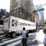Keystone Freight Corp. doing it's daily runs into NYC.